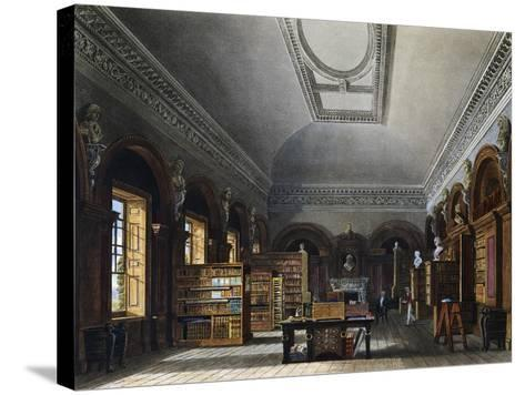 Queen's Library--Stretched Canvas Print