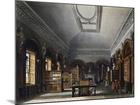 Queen's Library--Mounted Giclee Print
