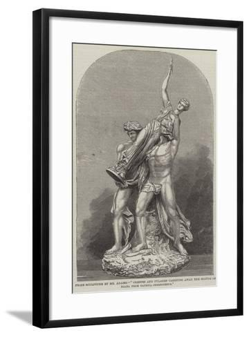 Prize Sculpture by Mr Adams--Framed Art Print
