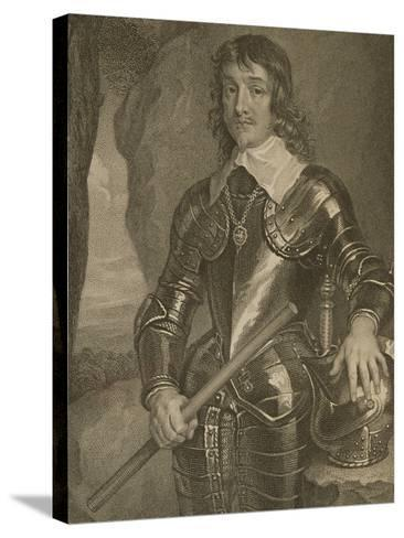 Portrait of James Hamilton (1606-49) 3rd Marquis and 1st Duke of Hamilton--Stretched Canvas Print