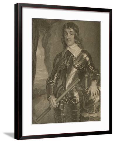 Portrait of James Hamilton (1606-49) 3rd Marquis and 1st Duke of Hamilton--Framed Art Print