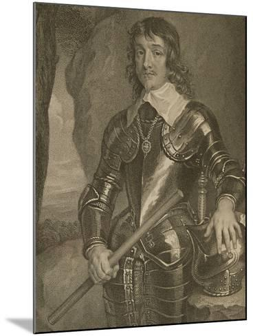 Portrait of James Hamilton (1606-49) 3rd Marquis and 1st Duke of Hamilton--Mounted Giclee Print