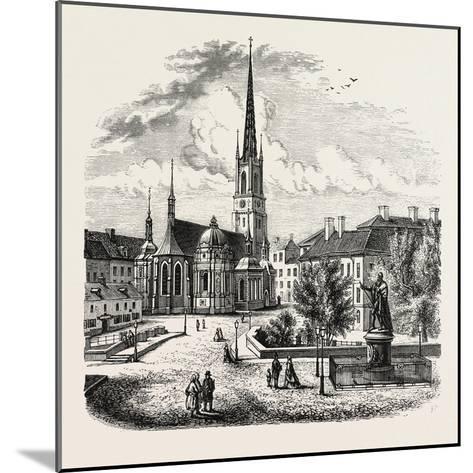 Riddarholm Church. the Riddarholmen Church--Mounted Giclee Print