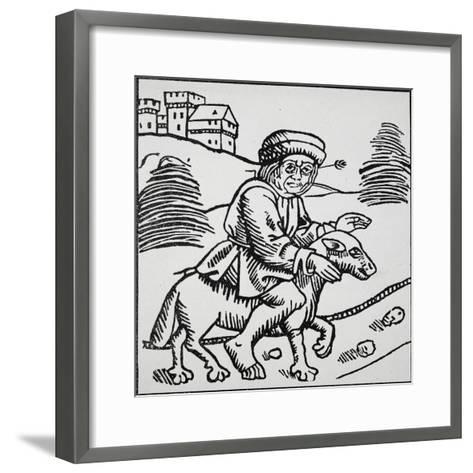 Ride of Sorcerer--Framed Art Print