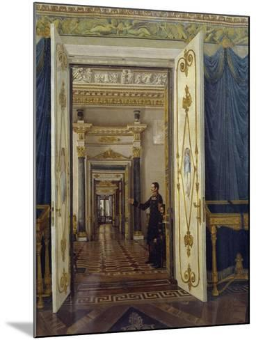 Rooms of Maria Feodorovna in Winter Palace in St Petersburg--Mounted Giclee Print
