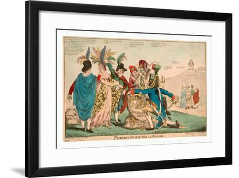 Property Protected--À La Françoise--Framed Art Print