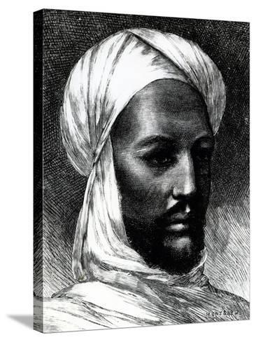 Portrait of Muhammad Ahmad (1844-1885)--Stretched Canvas Print