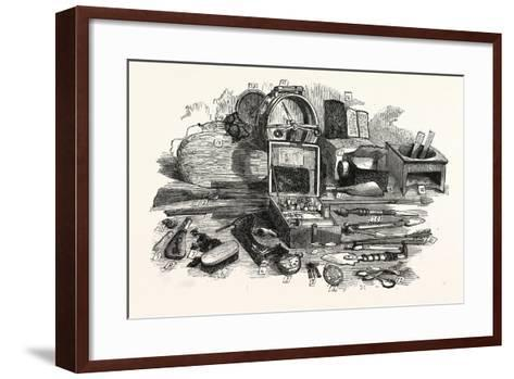 Relics of the Franklin Expedition--Framed Art Print