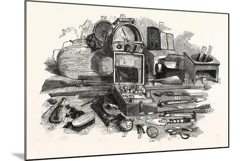 Relics of the Franklin Expedition--Mounted Giclee Print