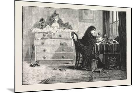Reading for a Degree. 1876--Mounted Giclee Print