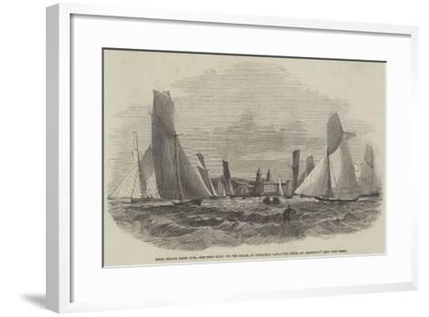 Royal Thames Yacht Club--Framed Art Print