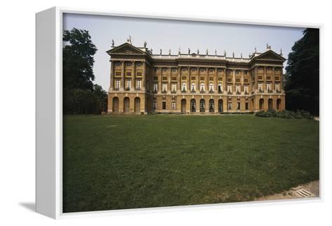 Royal Villa and Public Villa--Framed Canvas Print