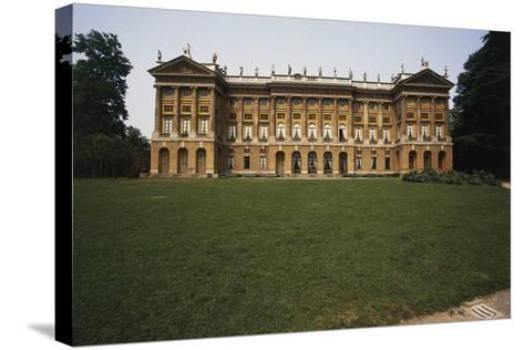 Royal Villa and Public Villa--Stretched Canvas Print