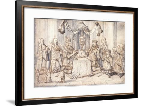 Portraits of Emperor Maximilian I--Framed Art Print