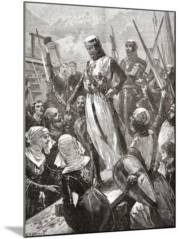 Reception of Richard in 1194--Mounted Giclee Print