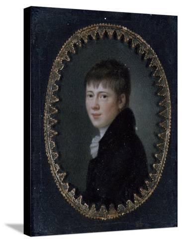 Portrait of Bernd Heinrich Wilhelm Von Kleist (Frankfurt Oder--Stretched Canvas Print