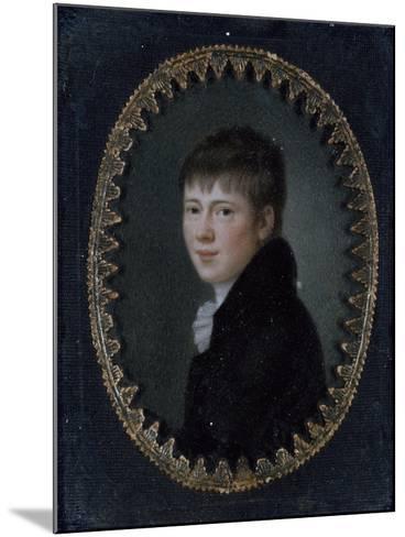 Portrait of Bernd Heinrich Wilhelm Von Kleist (Frankfurt Oder--Mounted Giclee Print