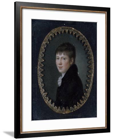 Portrait of Bernd Heinrich Wilhelm Von Kleist (Frankfurt Oder--Framed Art Print