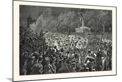 Republican Enthusiasm in New York--Mounted Giclee Print