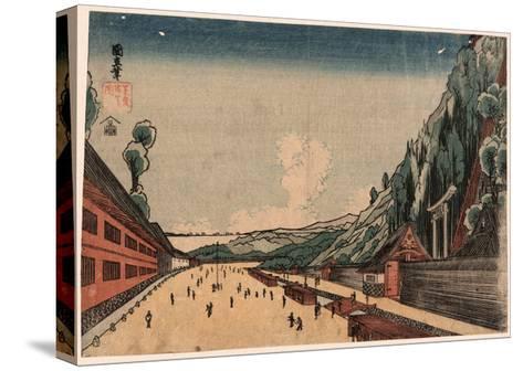 Shiba Atagoyama No Zu--Stretched Canvas Print