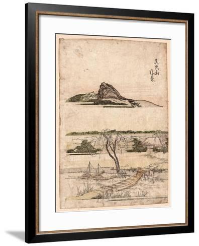 Shin Oyama Ukikei--Framed Art Print
