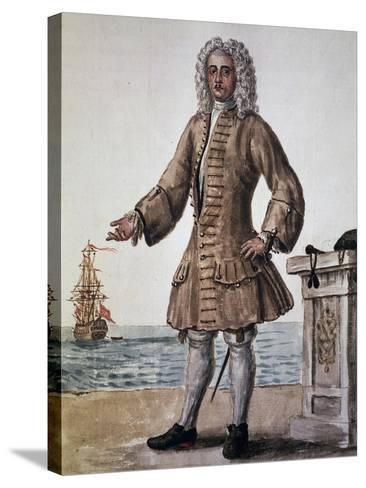 Ship's Captain of the Venetian Republic--Stretched Canvas Print