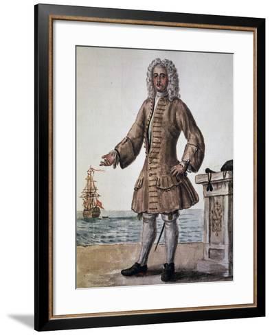 Ship's Captain of the Venetian Republic--Framed Art Print