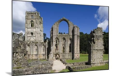 Ruins of Fountains Abbey--Mounted Photographic Print