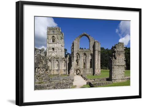 Ruins of Fountains Abbey--Framed Art Print
