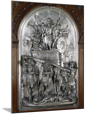 Scene of Triumph--Mounted Giclee Print