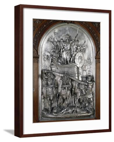 Scene of Triumph--Framed Art Print