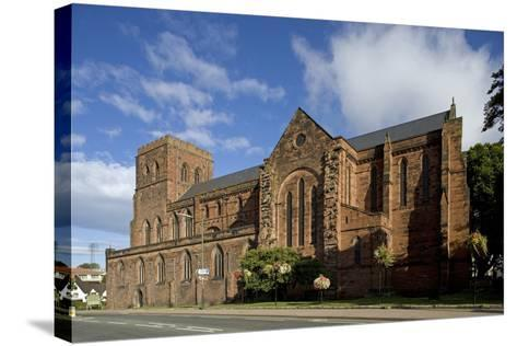 Shrewsbury Abbey (Abbey Church of Saints Peter and Paul)--Stretched Canvas Print