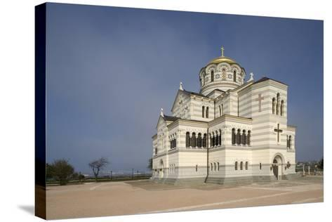 St Vladimir's Cathedral--Stretched Canvas Print