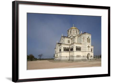 St Vladimir's Cathedral--Framed Art Print