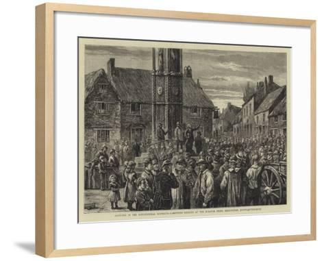 Sketches in the Agricultural Districts--Framed Art Print