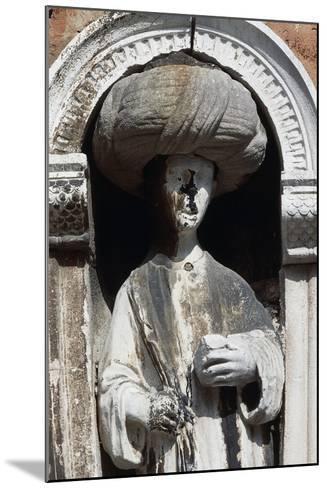Sculpture Depicting an Arab Merchant--Mounted Photographic Print