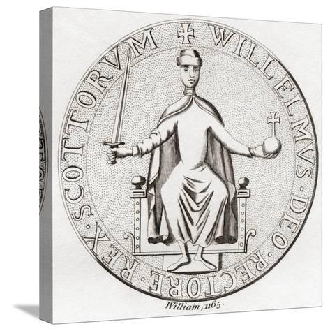 Seal of William the Lion--Stretched Canvas Print