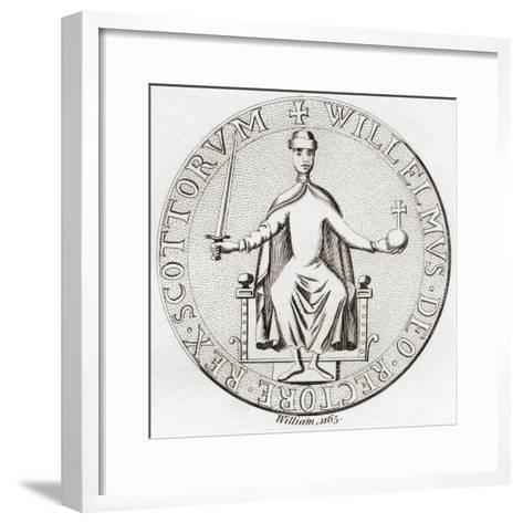 Seal of William the Lion--Framed Art Print