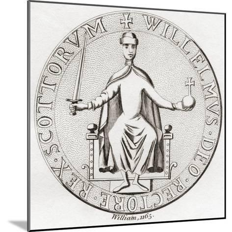 Seal of William the Lion--Mounted Giclee Print