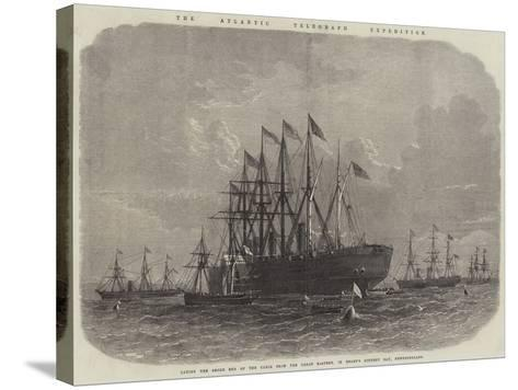 The Atlantic Telegraph Expedition--Stretched Canvas Print