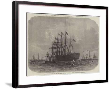 The Atlantic Telegraph Expedition--Framed Art Print