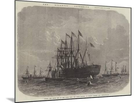 The Atlantic Telegraph Expedition--Mounted Giclee Print