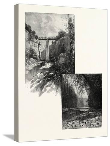 The Bridge--Stretched Canvas Print