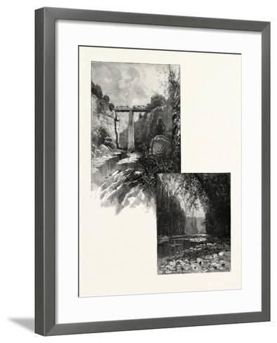 The Bridge--Framed Art Print