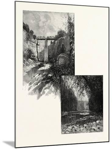The Bridge--Mounted Giclee Print