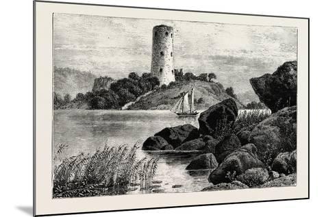 Stegeborg Castle. Stegeborg Castle Is a Ruined Castle in St Anna Parish--Mounted Giclee Print