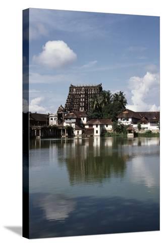 Temple Dedicated to God Vishnu--Stretched Canvas Print