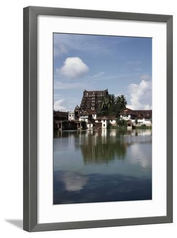 Temple Dedicated to God Vishnu--Framed Art Print