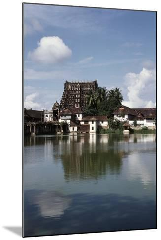 Temple Dedicated to God Vishnu--Mounted Giclee Print