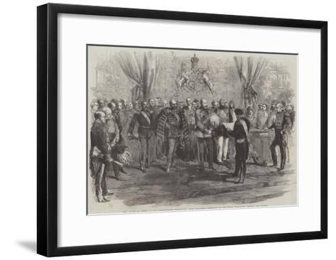 The Award of Prizes at the International Exhibition--Framed Art Print
